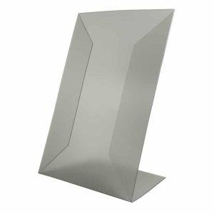 Portacartel en L - PVC