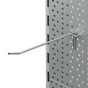 Gancho Sencillo para agujeros 4 mm grosor