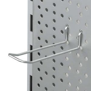 Gancho Doble sin puente para panel perforado