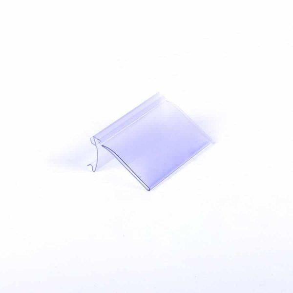 Portaprecios HY transparente
