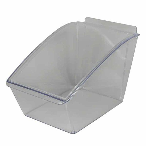 Cubeta dispensadora de panel de lama