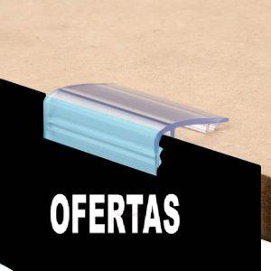 Pinza para estantes de hasta 25 mm de grosor