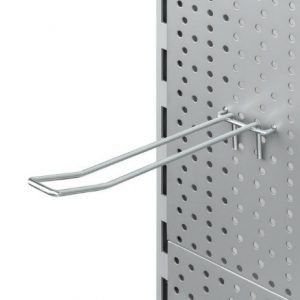 Gancho doble para panel perforado 300mm